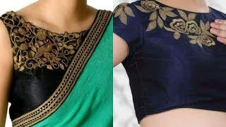 Designer blouse designs || Designer blouse back neck designs