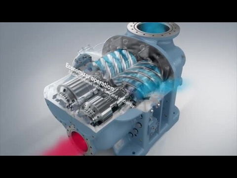 Advantages Of Natural Gas >> GEA Screw Compressor Product Animation - YouTube