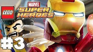 LEGO Marvel Superheroes - Part 3 - Doctor Octopus Takedown  (HD Gameplay Walkthrough)