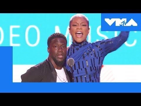 Tiffany Haddish & Kevin Hart Roast 🔥 the VMA Audience | 2018 MTV Video Music Awards