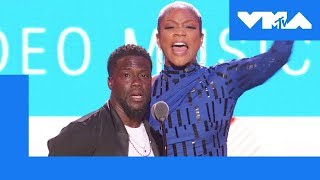Tiffany Haddish & Kevin Hart Roast 🔥 the VMA Audience | 2018 MTV Video Music Awards