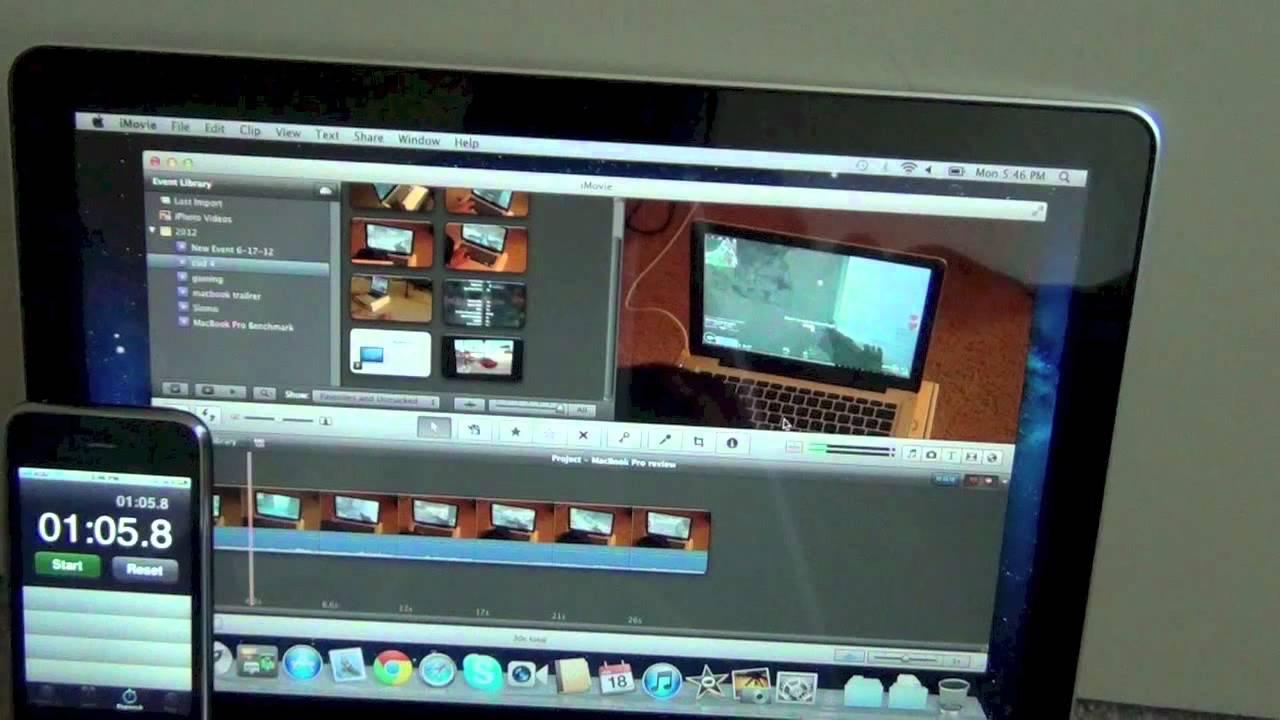 2012 macbook pro video editing(final cut&Imovie) - YouTube