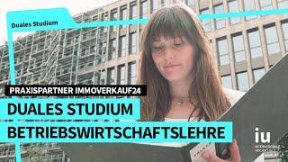 Duales Studium Betriebswirtschaftslehre an der IUBH |  Praxispartner Immoverkauf24 GmbH