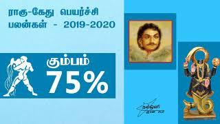 ராகு கேது பெயர்ச்சி பலன்கள் - கும்ப ராசி  2019-2020 - RAHU KETU PEYARCHI 2019-2020
