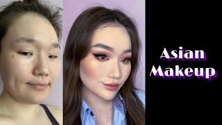 Макияж для азиатских глаз Макияж для нависшего века Азиатский макияж Как увеличить глаза