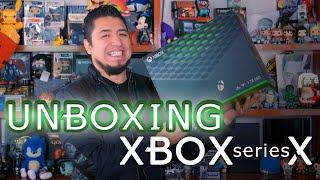 XBOX SERIES X : UNBOXING I FEDELOBO