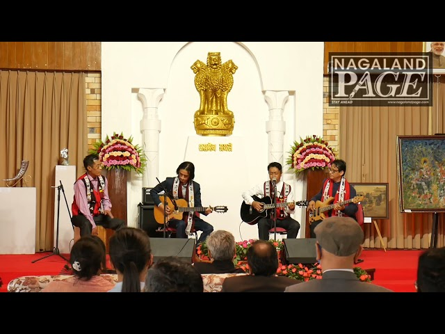 Squadron band from Nagaland performimg Eric Clapton's