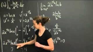 Improper Integrals | MIT 18.01SC Single Variable Calculus, Fall 2010