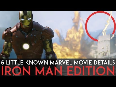 6 Little Known Marvel Movie Details You Might Have Missed : Iron Man Edition