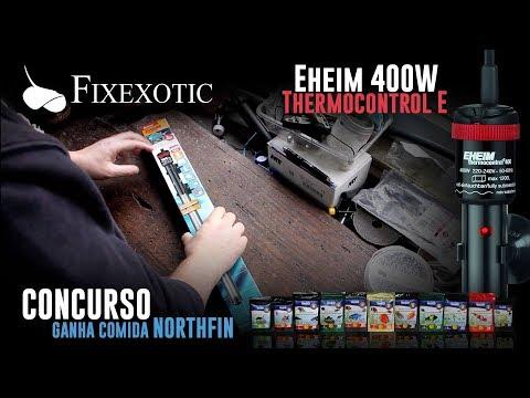 Fixexotic - Análise termoestato eheim thermocontrol e 400W e concurso OFERTAS