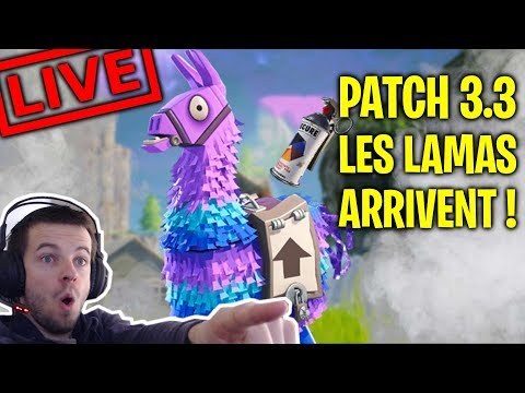 nouveau-lama-dans-le-futur-patch-3.3-fortnite-battle-royale-top-1-[live-fr-facecam---pc]