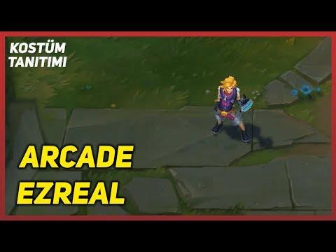 Arcade Ezreal (Kostüm Tanıtımı) League of Legends