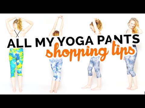 ALL My Yoga Clothes Shopping Tips: Yoga Pants | Yoga Bras | Yoga Tops | Best Brands & More