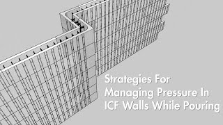 Strategies For Managing Pressure In ICF Walls While Pouring