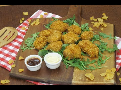Cornflake Crusted Chicken Breast: Crunchy, Simple And Tasty!