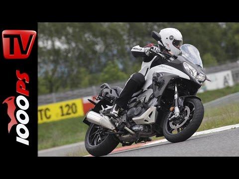 2015 Honda VFR800X Crossrunner Test | Reiseenduro Vergleich