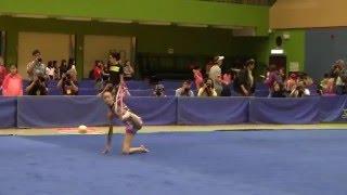 2016年全港學界藝術體操比賽 中學初級組繩操 Chan Siu Yan