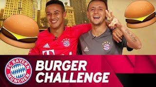 Thiago & Rafinha: Battle of the Burger | #AudiFCBTour