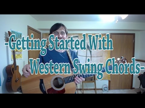 Getting Started With Western Swing Chords- FREE EASY LESSON!