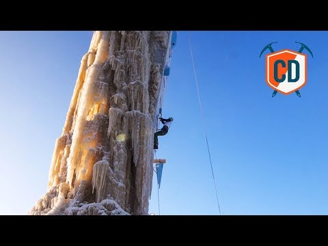 The World's Most Northerly Ice Climbing Competition #FinIce   Climbing Daily Ep.1126