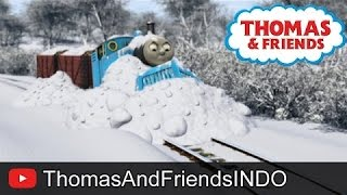 Thomas & Friends Bahasa Indonesia - Full Episode - Jalur Salju