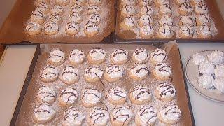 Пирожные с зефиром