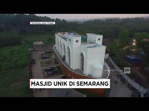 Masjid Unik di Semarang: Kapal Nabi Nuh, Koleksi Quran dan Bedug Raksasa
