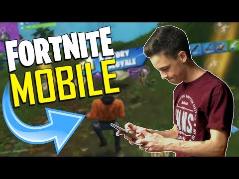 FAST MOBILE BUILDER on iOS / 440+ Wins / Fortnite Mobile + Tips & Tricks!