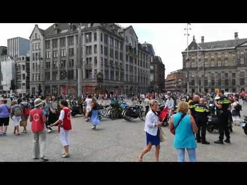 Dam square Amsterdam 18/07/2017