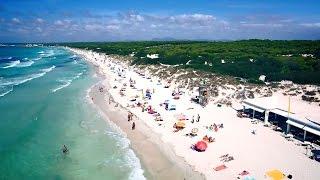 Es Trenc Beach - Aerial Video Majorca 2014 HD
