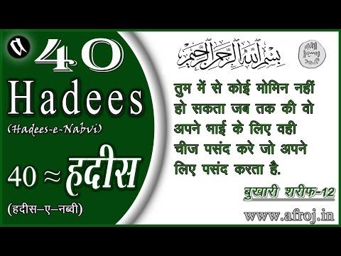 40 Hadees in Hindi
