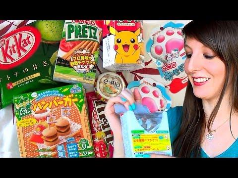 Dégustation Candysan #3 : Kit-Kat Thé Vert, Hamburger RATÉ, Happy Nikukyu pattes de chats ?