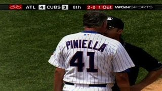 ATL@CHC: Piniella ejected, first time as Cubs manager