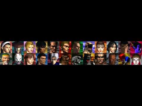 Tekken 2 Arcade Character Select Screen looped for 58 ...