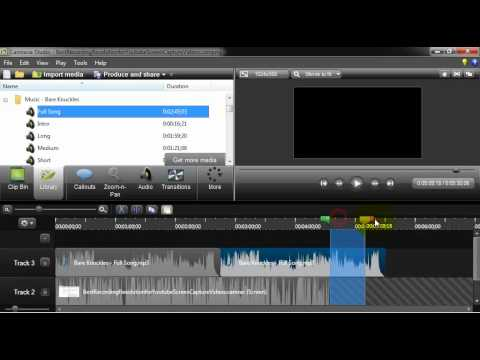 Add Music to a Camtasia Studio 8 Video