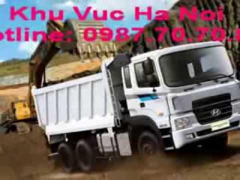 Hyundai HD270 Ben 15 Tan 3 Chan Thung 15 Khoi Nhap Khau, Hyundai HD370 Ben 24 Tan 4 Chan