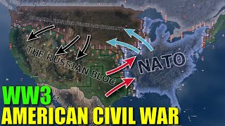 2020 American Civil War and WW3 - HOI4 Timelapse