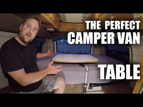 Ggc 61 How To Build The Perfect Camper Van Table Youtube