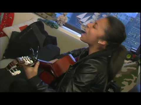 Oksana Pasian auditions for Hollywood Records