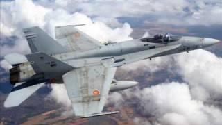 aviones cazas y bombarderos