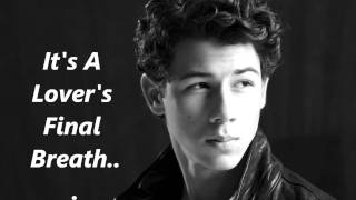 Watch Nick Jonas  The Administration Vespers Goodbye video