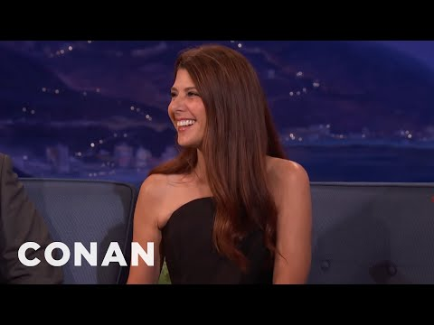 Marisa Tomei's CrossCountry Road Trip With Her Cat   CONAN on TBS