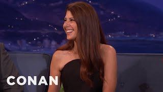 Marisa Tomei's Cross-Country Road Trip With Her Cat  - CONAN on TBS