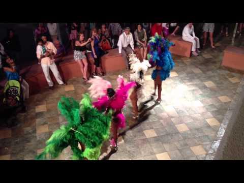 """St. Maarten Casino Dancers """"Carnival"""" Style"""