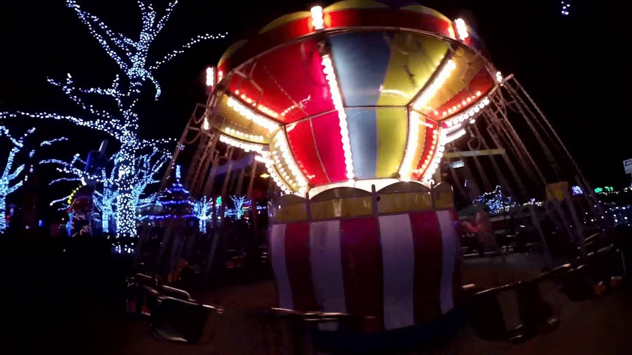 Kennywood Christmas LIghts 2015 - YouTube