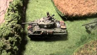 Flames of War: Batrep - SS vs US - Late War 1900pts