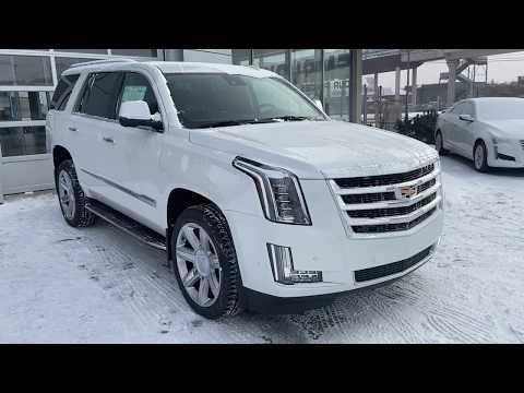 White 2020 Cadillac Escalade Luxury Review   - GSL GM City | Calgary