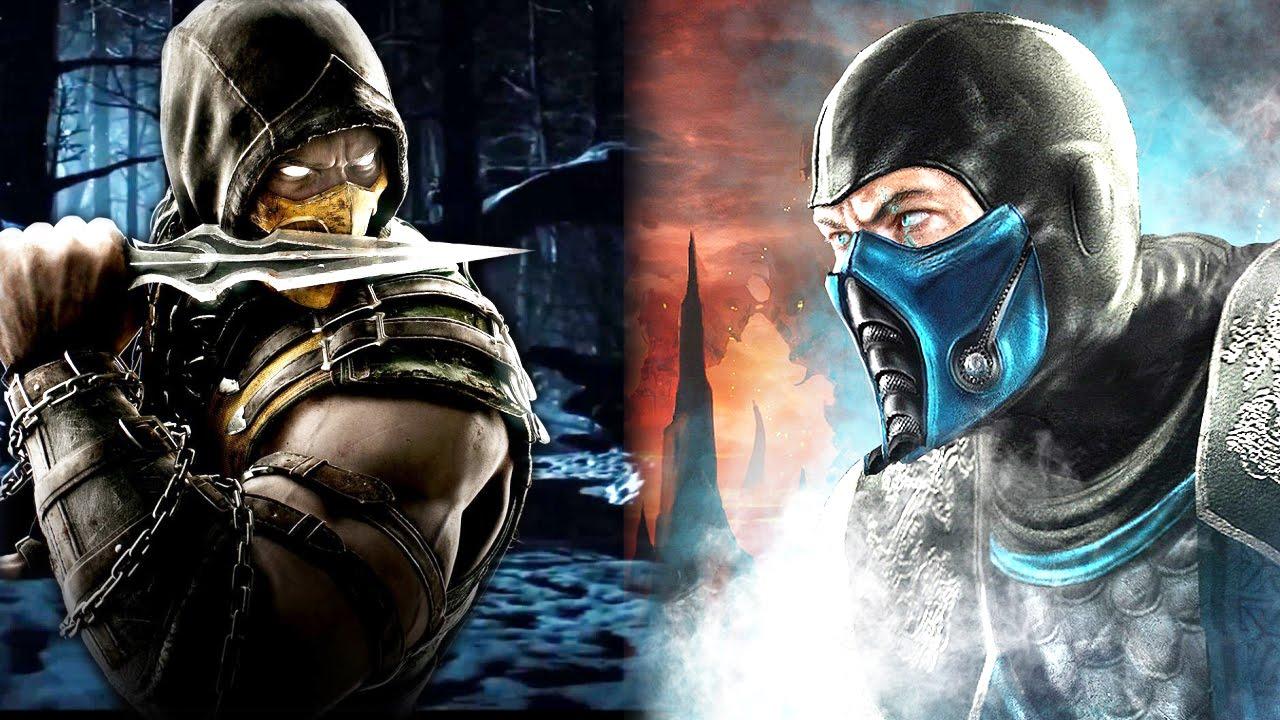 The Scorpion And Sub Zero Story Youtube