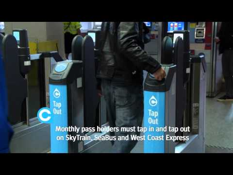 Tapping Your Compass Card On The SeaBus