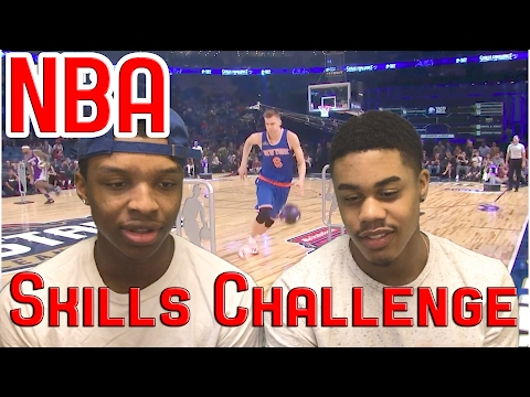 JOHN WALL WHAT THE F***?!?! NBA ALL-STAR WEEKEND 2017 SKILLS CHALLENGE REACTION!!